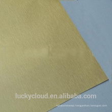 wall cladding ACP Brush Decoration material Aluminium composite panel