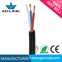 2015 New Price high quality 3 Cores 3*0.75MM rvv cable