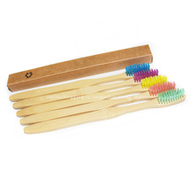 Зубная щетка с зубной щеткой из бамбукового угля