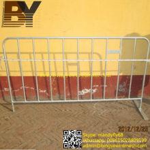 High Quality Galvanized Crowd Control Fence