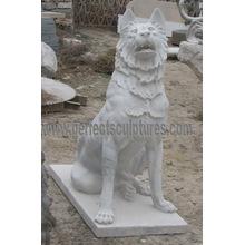 Статуя каменного мраморного животного Animal for Garden Sculpture (SY-B162)