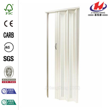 Iron Transparent Thermofoil Cabinet Interior Folding Door