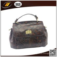 Wholesale Good Quality Genuine Leather Lady Handbag (HJ0518)