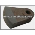 Martelo de triturador aço resistente ao desgaste