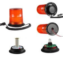 Luz de giro ambarina conduzida ESCONDIDA da baliza para o tráfego do reboque da agricultura da ambulância do caminhão