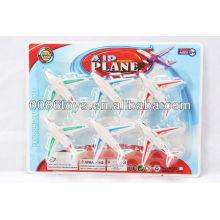 8CM Горячая игрушка ребенка тянуть назад самолет плоскости