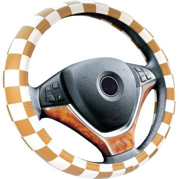 Factory made hot-sale for Safe PVC Steering Wheel Cover Car accesory PVC printing steering wheel cover export to Portugal Supplier
