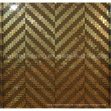 Bisazza Gold Mosaic Pattern Fliesen für Wanddekoration (HMP830)