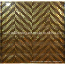 Bisazza Gold Mosaic Pattern Tile for Wall Decoration (HMP830)
