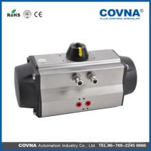 Válvula neumática de bola de actuador Válvula de cierre rápido con actuador neumático de doble efecto