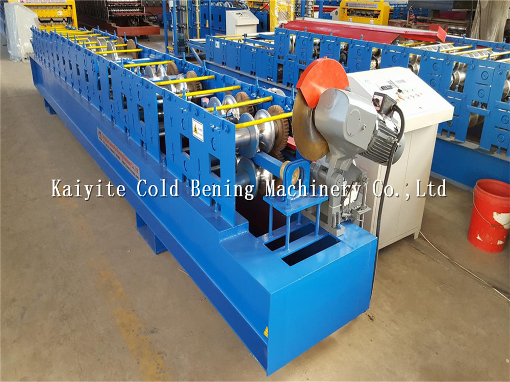 metal downspount roll forming machine