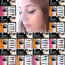 Nouveau design lady yeux tatouage temporaire maquillage autocollant magique instantanés eyeshadow autocollants oeil tatouage