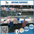 Haute efficacité poulet de volaille abattage ligne de coupe machine vente pour le monde