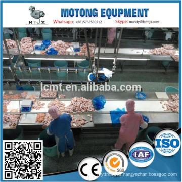 precio de fábrica de línea de máquina de matanza de pollo de aves de corral