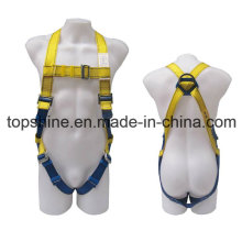 Professional Industrial Full-Body Polyester Adjustableprotective Security Harness Safety Belt