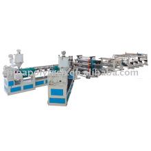 PC / PP / PE / PVC ligne d'extrusion de feuille creuse (peigne de miel) feuille
