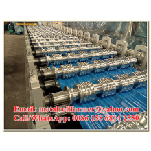 Color Painted Chromadek Roof Tile Machine Roll Forming Line with 6 Meters/min Working Speed