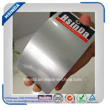 Recubrimiento de polvo de pintura en polvo brillante plata metálico brillante de alta venta caliente del polvo