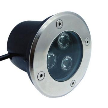 Lámpara subterránea de LED de alta potencia LED de iluminación de paisaje