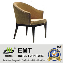 Cadeira de hotel de madeira confortável de forma agradável (EMT-HC63)