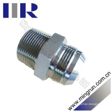 Jic Male / Nptf Male Hydraulic Tube Adapter Hydraulic Fitting (1JV)