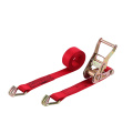 Metal Ratchet Tie Down Lashing Strap With 5000Kgs