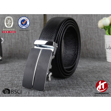 Genuine leather business belts in korean fashion