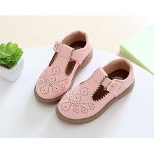 Zapatos de los niños del ocio de la PU superior Zapatos de los niños de la moda