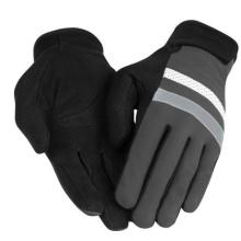 Riding Full Finger Glove met reflecterende strepen