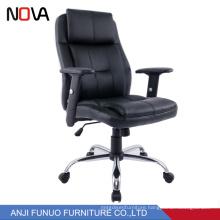 Nova Office Ergonomic Leather Revolving Task Lift Chair For Manager