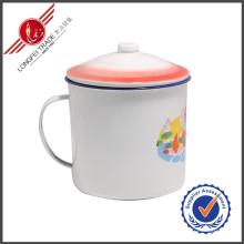 6-12см Традиционные чашки чашек эмали чашки оптовой продажи