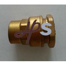 Raccord de tuyau droit en laiton PE