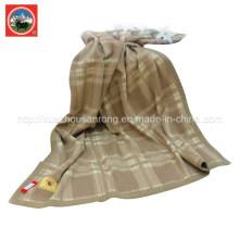 Couverture de treillis de laine de yak / tissu de cachemire / textile de laine de chameau / tissu / literie