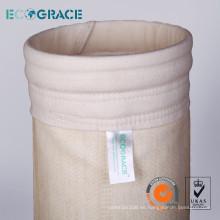 Bolsa de filtro Nomex para la recogida de polvo en la planta de cemento
