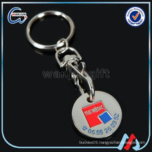 Promotional Product Trolley Coin Keychain(K-191)