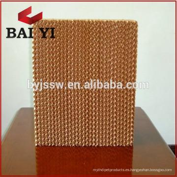 Sistema de enfriamiento y humidificación / almohadilla de enfriamiento / fábrica de cortinas húmedas