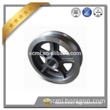 Customized OEM manufacturer precision investment casting pulley avaiable in various material