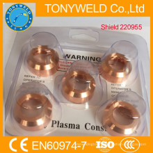 cutting torch spare parts 220955 plasma welding shiled
