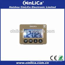 LCD display programável digital despertador