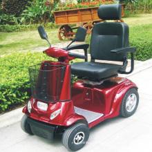 Carrinho de mobilidade elétrica dobrável com bateria de 800 W para deficientes físicos (DL24800-3)