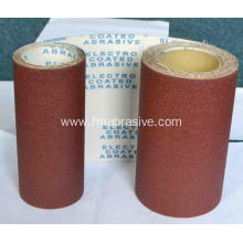 Manufacturing Companies for Soft Abrasive Cloth Aluminum Oxide Abrasive Cloth Roll J113 240# supply to Equatorial Guinea Supplier