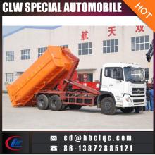 6X4 16m3 18m3 Hydraulic Lifter Garbage Truck Gancio Elevatore Garbage Truck