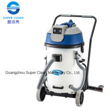 Commerial 60L Wet and Dry Vacuum Cleaner with Squeegee (plastic tank)