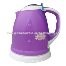 Durable Plastic Electric Kettle, OEM Orders are Welcome