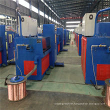 11DST(0.8-2.76) electrical equipment copper intermediate wire drawing machine with ennealing(used wire drawing machine)