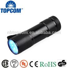 Mini Mr Flat poderoso y barato UV Led linternas