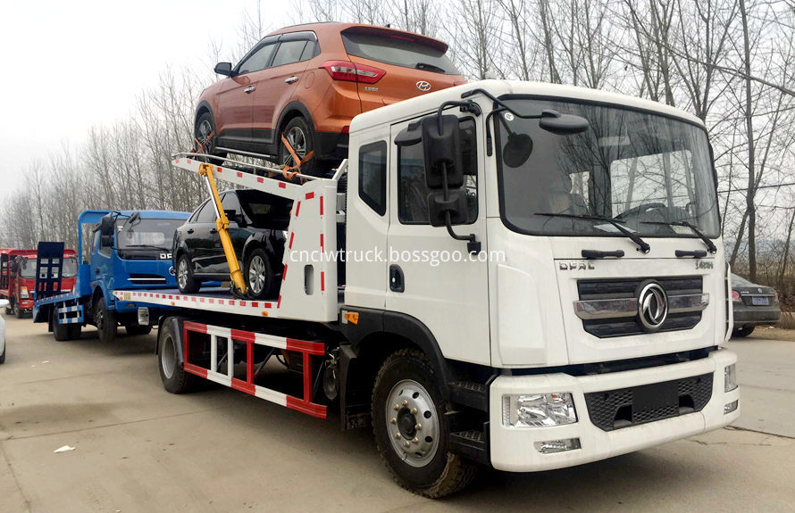 flatbed tow truck 1