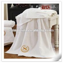 Ensembles de serviettes 100% coton 16s Vente en gros de fournitures de salle de bain de l'hôtel