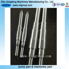 Precision Machining CNC Machining Straight Pump Shaft for Mining