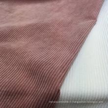 Tissus épaissis pour pantalons 8 Tissus en velours côtelé de Pays de Galles